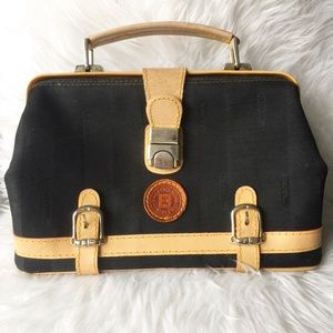 Authentic fendi vintage doctors bag handbag